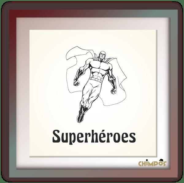 Chimpos-tematica-superhéroes
