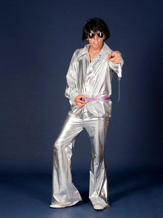 Elvis Presley_traje plateado