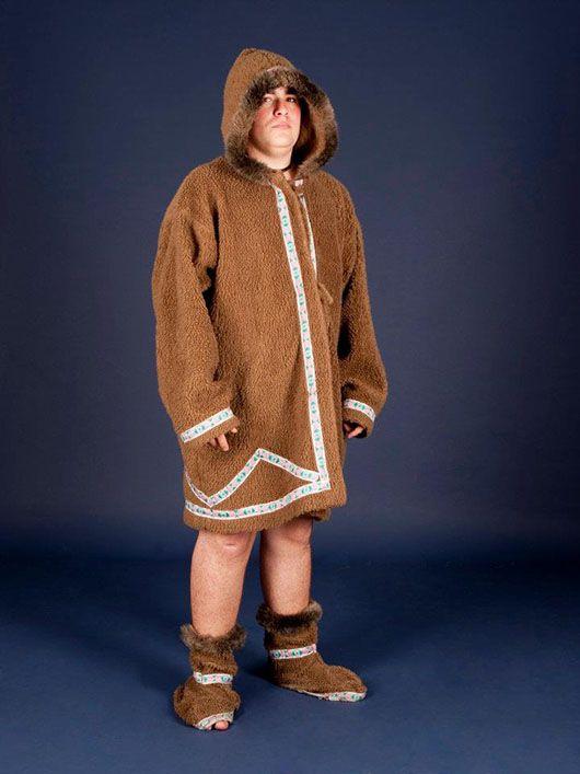 Esquimal_traje marrón