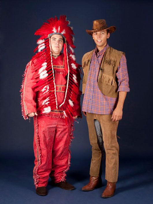 Indio y Cowboy