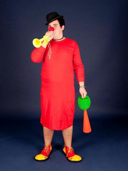Payaso_traje rojo