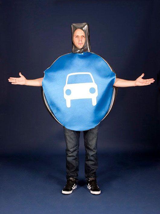 Señal de tráfico_permitido circular