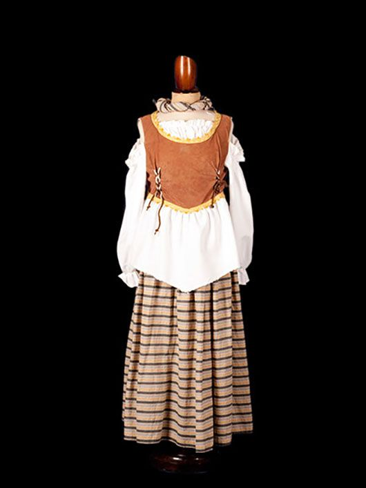 cantinera medieval_traje marron